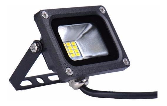 (10 Piezas) Reflector Led 20w Smd5730 12v Dc Bateria Panel