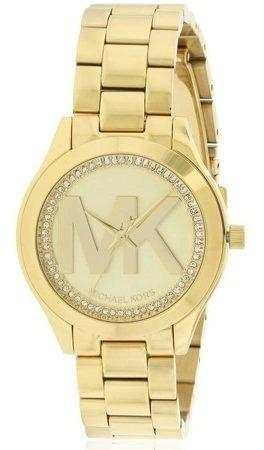 Reloj Michael Kors Mk3477 Mini Runway Gold-tone Watch