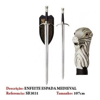 Espada Jon Snow (game Of Thrones) Garra Longa