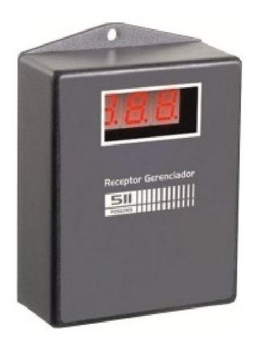 Receptor Gerenciador De 511 Posiciones Con Display Marca Seg