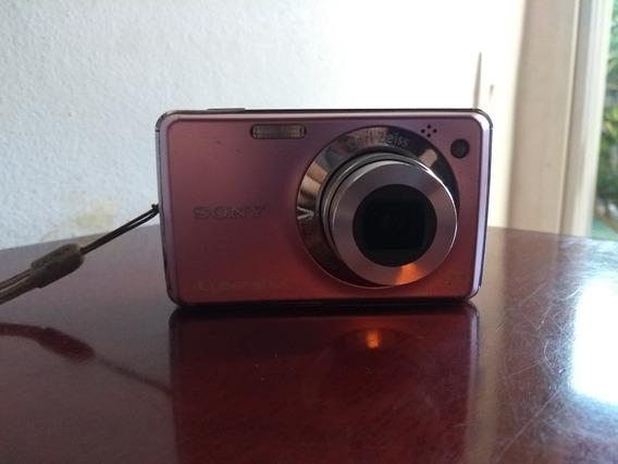 Câmera Sony Cybershot Rosa