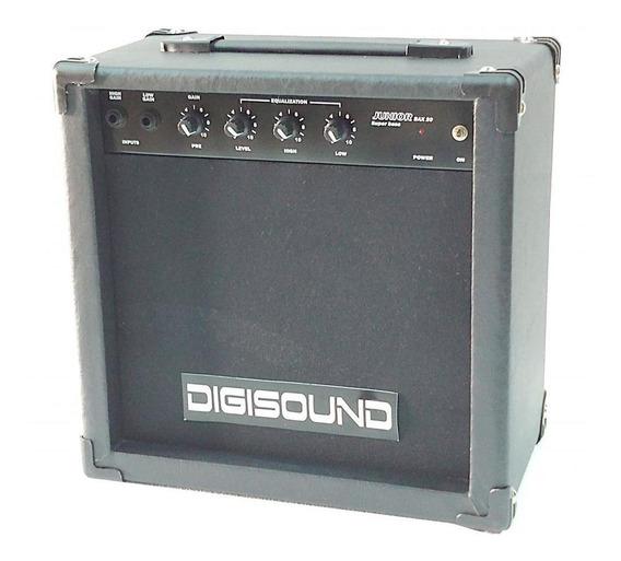 Amplificador Para Bajo De 20 W Digisound