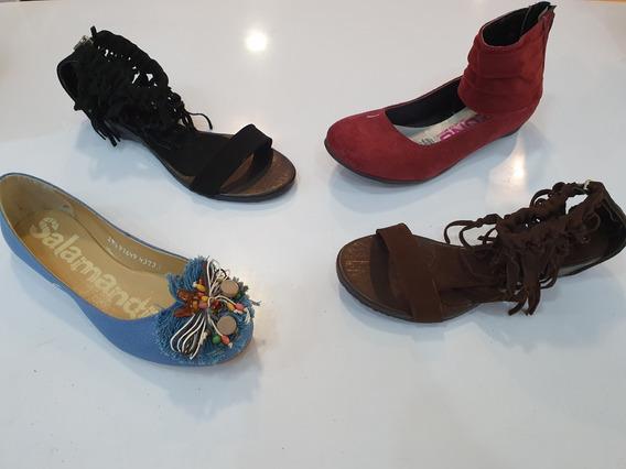 Lote De Zapato En Liquidación 8 Pares De Dama Varias Marcas