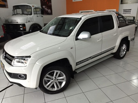 Vw Amarok Ultimate 2016/2016 Branca Autom Top 26000 Km