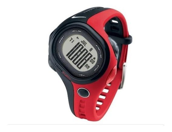 Relógio De Pulso Nike Triax Fury 50 Regular - Preto/vermelho