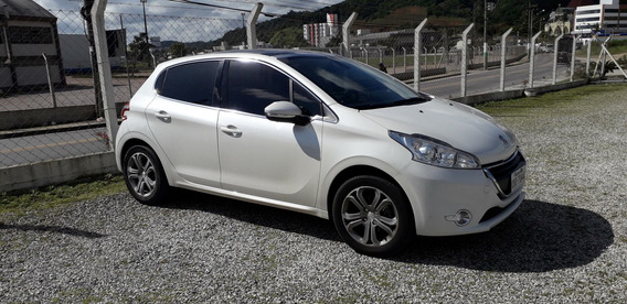 Peugeot 208 Griffe 1.6 16v (flex) Aut) 2015 Carro Financiado
