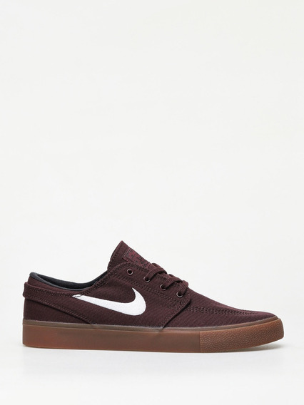Tênis Nike Sb Zoom Janoski Cnvs Rm Bordo Original + Nf