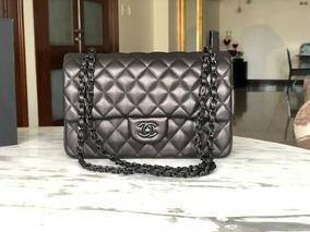 Bolsa Chanel Original Classic 2.55 Total Black Oportunidade