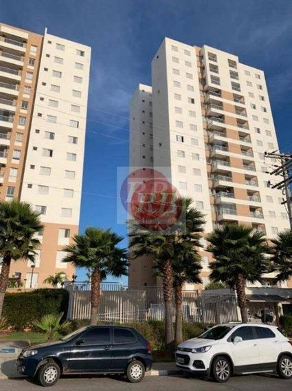 Apartamento Com 3 Dormitórios À Venda, 87 M² Por R$ 478.300 - Condomínio Mistral Campolim - Sorocaba/sp - Ap0140