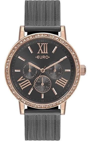 Relógio Feminino Euro Eu6p29ahk/5f Barato Original