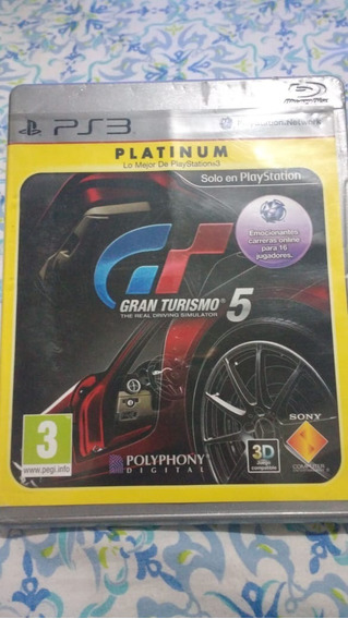 Gran Turismo 5(leia) - Mídia Física - Ps3