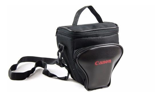 Bolsa Reflex Cânon P/câmera E Acessórios Semi E Profissional