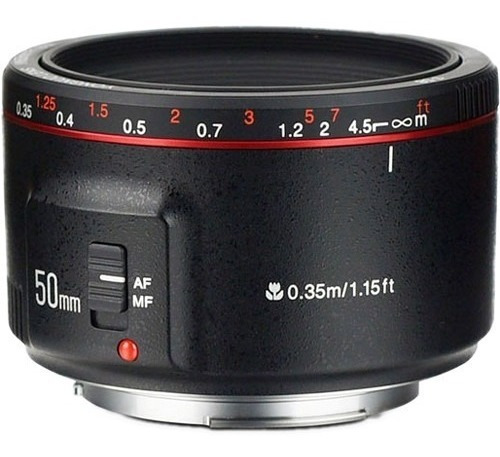 Nova Lente Yongnuo Yn 50mm 1.8 Il P/ Canon