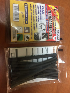 Kit Termocontractil Teipe Cables Termoencogible Paqt 5mm 8m