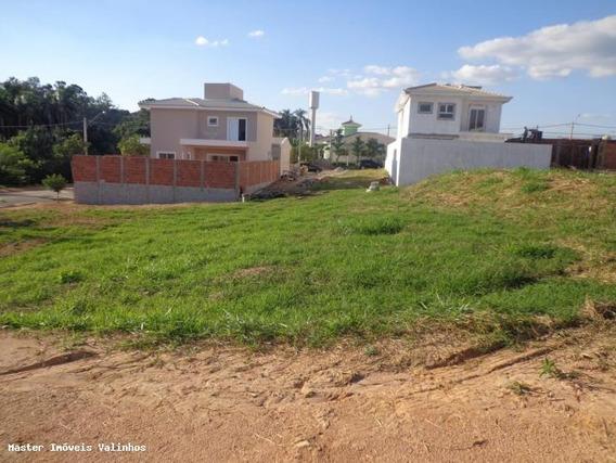 Terreno Em Condomínio Para Venda Em Valinhos, Lenheiro - Te 145