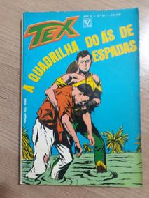 Tex Nº 20 A Quadrilha Do Ás De Espadas 1ª Edição.