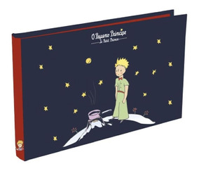 Álbum Pequeno Príncipe Clássico Original 192 Fotos Azul