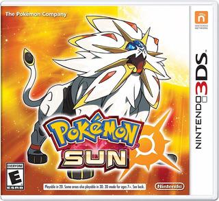 Pokémon Sun - Nintendo 3ds (físico)