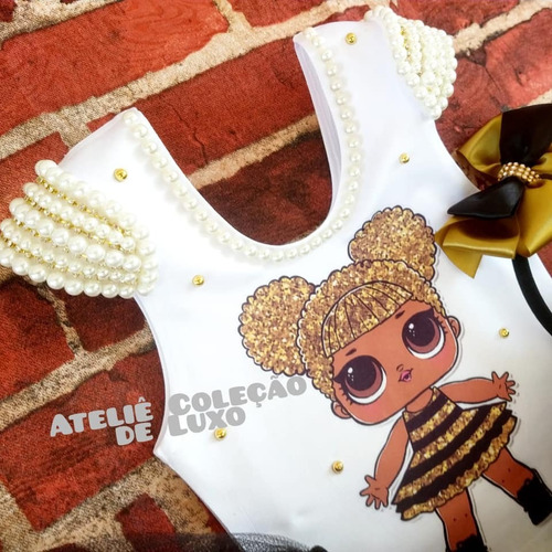 Roupa Da Lol Queen Bee Fantasia Queen Bee Saia De Tutu Lol Mercado Livre