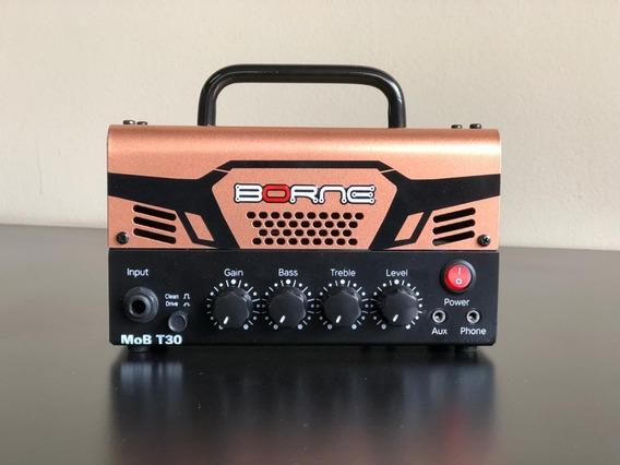 Mini Cabeçote De Guitarra Amplificador Borne Mob T30