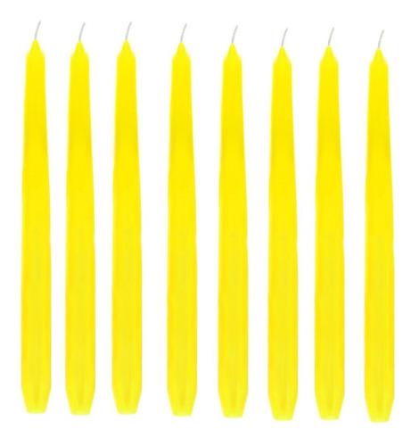 10 Velas Lisa 25 Cm 11 Cores Decoração Casamento Castiçal Cores Branca Amarela Laranja Vermelha Rosa Lilás Azul Verde