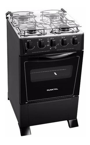 Cocina Punktal 4h S/g Negra Pk-375c Monte Carlo Albion