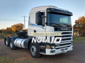 Scania R114 380 6x2 2006 Com Ar Condicionado Revisado Truck