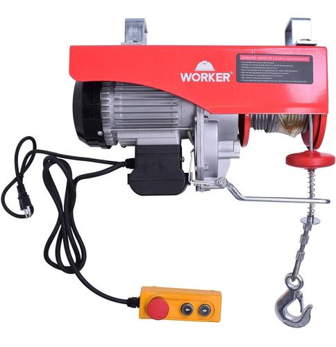 Guincho Eletrico Worker 0. 5t/1t 1300w 220v