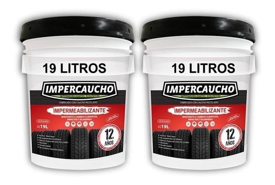 Impermeabilizante Impercaucho 2 Cubetas 19