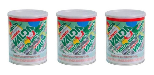 Valda Tablete Pote C/100 (kit C/03)