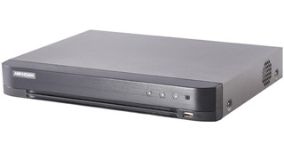 Dvr Hikvision 5mpx P2p 4 Ch + 2 Ip H265+ 4 Audios+ Alarma