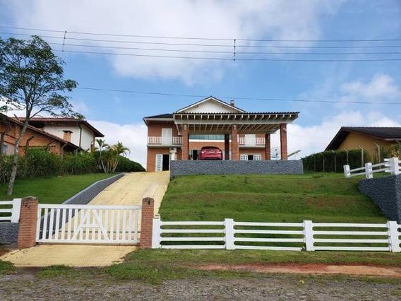 C-2395 Casa Com Linda Vista No Condomínio Alpes De Guararema - 2265