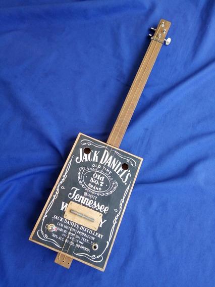 Cigar Box En Stock Clasica Mic Piezo Gaucho Box Guitar