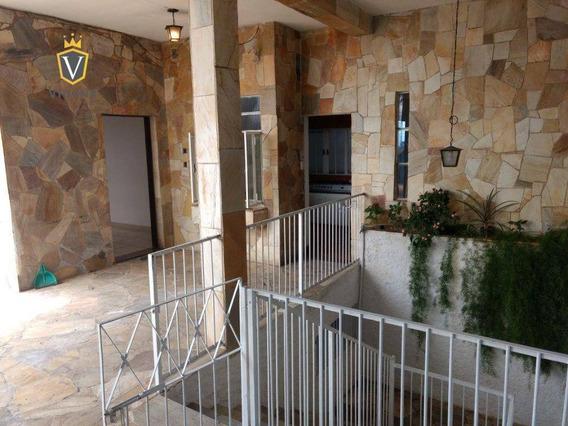 Casa No Centro 600 Metros Com Salão Comercial Em Excelente Localização - Ca1169
