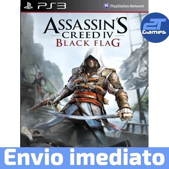 Assassins Creed Iv 4 Black Flag Dublado Português Ps3 Psn