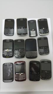 Lote De Aparelhos Celulares Blackberry/htc Seminovos