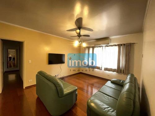 Imagem 1 de 18 de Pompéia -apartamento Com 2 Dormitórios À Venda, 89 M² Por R$  - Pompéia - Santos/sp - Ap8017