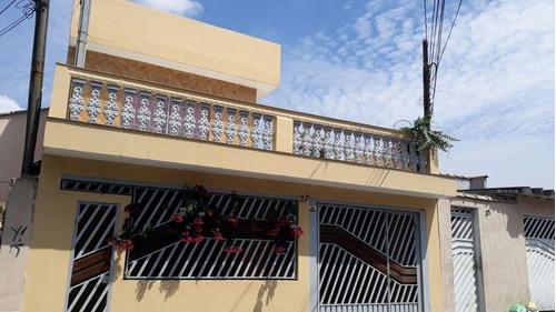 Imagem 1 de 15 de Sobrado À Venda, 3 Quartos, 3 Vagas, Monções - Santo André/sp - 45622