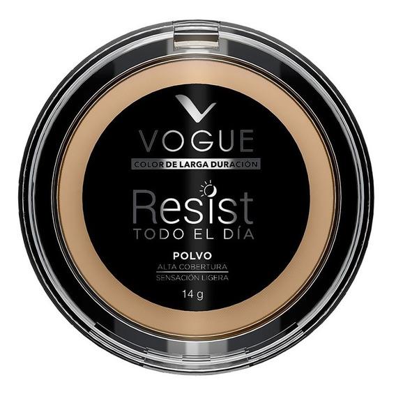Polvo Compacto Resist Tono Avellana Vogue