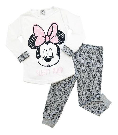Pijama Manga Larga Disney Minnie Mouse Original Mundo Manias