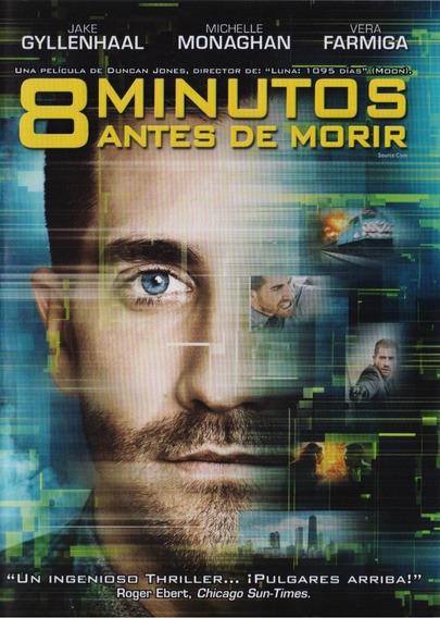 8 Minutos Antes De Morir Source Code Pelicula Dvd Mercado Libre