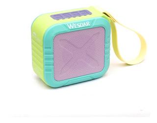 Parlante Portatil Bluetooth Wesdar K25 - Resistente Al Agua