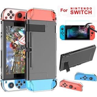 Funda Nintendo Switch Protector Grip Ergonomico Accesorios Para Consola