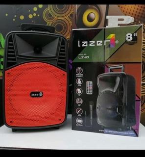 Cabina Activa Bafle Speaker Sonido Portatil 8 ¨ Bluetooth