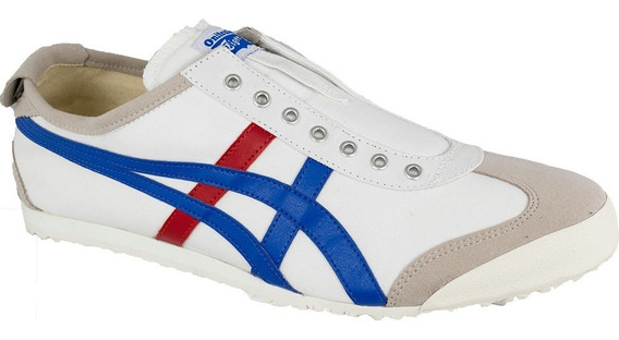 Tênis Mexico 66 Slip-on White/tricolor Onitsuka Original