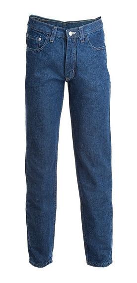 Pantalon De Jean Denim Azul Tradicional Bufalo
