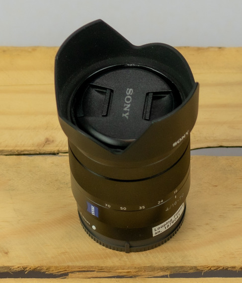 Lente Sony Zeiss 16-70 F4 E-mount - Excelente Estado