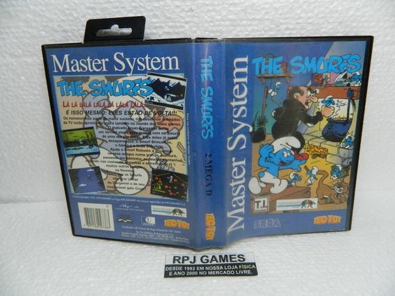 The Smurfs Original Completa P/ Master System - Loja Rj
