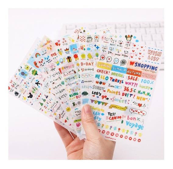 Stickers Para Decorar Cuadernos En Mercado Libre México