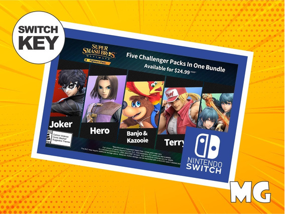 Super Smash Bros. Ultimate Fighter Pass Dlc - Switch Digital